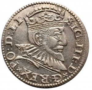 Zygmunt III Waza, Trojak 1592, Ryga