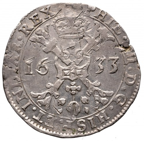 Niderlandy hiszpańskie, Brabancja, Patagon 1633