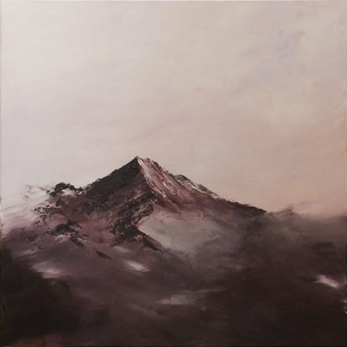 Yuliya Stratovich, Foggy mountains, 2020