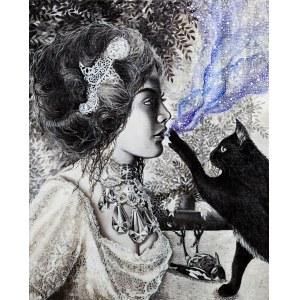 Marta Julia Piórko, Dziewczyna z kotem, 2019