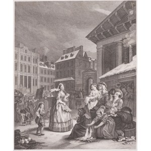 William Hogarth (1697 - 1764), Thomas Cook (ok. 1744-1818), Ranek, 1797