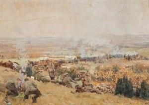 POSTÓJ WOJSK NIEMIECKICH, 1915