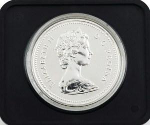 1 dolar, 100 lat Calgary, Kanada, 1975