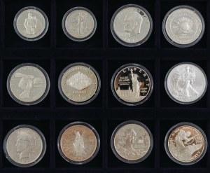 Amerykańskie i kanadyjskie srebrne dolary