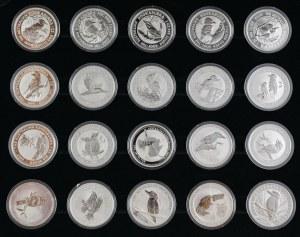20 monet 1 dolar, Kukabura, Australia, Mennica Perth, 2009