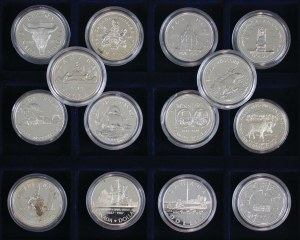 14 monet, 1 dolar, Kanada