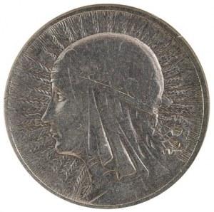 2 zł, głowa kobiety, 1933