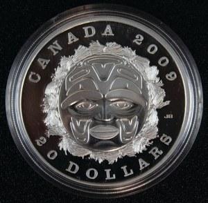 20 dolarów, Maska letniego księżyca, Kanada, 2009