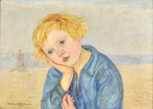 Wlastimil HOFMAN (1881 - 1970), Zamyślona dziewczyna, 1931