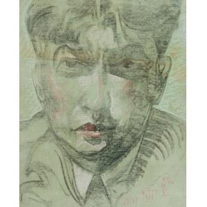 Stanisław Ignacy Witkiewicz Witkacy (1885-1939), Portret mężczyzny