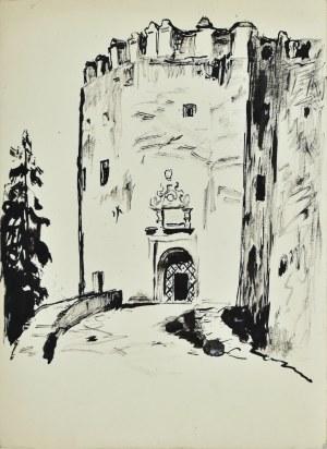 Ludwik Maciąg (1920-2007), Wejście do zamku w Niedzicy