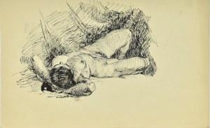 Ludwik Maciąg (1920-2007), Studium aktu leżącej kobiety