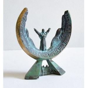 Bronisław CHROMY (1925-2017), Statuetka pamiątkowa - 30. rocznica pierwszej pielgrzymki Papieża Jana Pawła II w Polsce