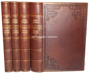 SZUJSKI- DZIEJE POLSKI t.1-4 (komplet w 4 wol.) wyd. 1862-6