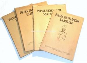POLSKA ENCYKLOPEDIA SZLACHECKA t.1, z. 1-4