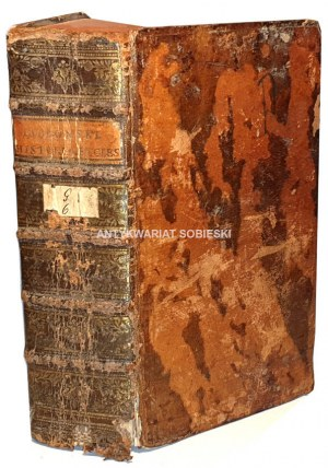 JABŁOŃSKI - INSTITUTIONES HISTORIAE CHRISTIANAE t.1-3 [komplet w 1 wol.] 1766
