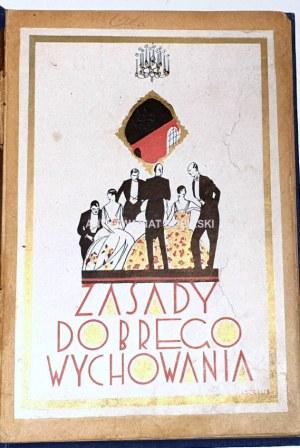 VAUBAN - ZASADY DOBREGO WYCHOWANIA savoir-vivre 1928r.