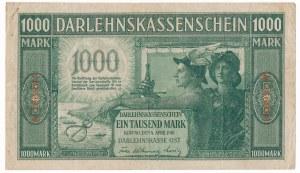 Kowno 1.000 marek 1918 6 cyfr