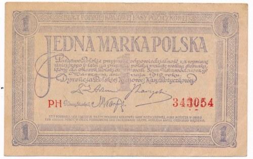 1 marka 1919 - PH -