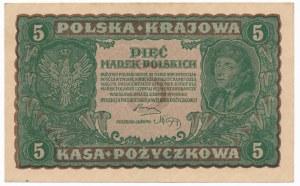5 marek 1919 - II Serja O