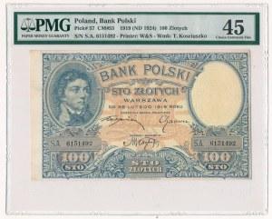 100 złotych 1919 S.C - PMG 45
