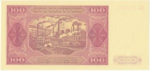 100 złotych 1948 - KR -