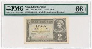 2 złote 1936 - CB - PMG 66 EPQ
