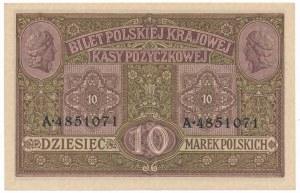 10 marek 1916 Generał biletów - bardzo ładny