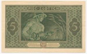 5 złotych 1926 - D - emisyjna świeżość