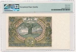 100 złotych 1934 Ser.AV. + X + - PMG 67 EPQ