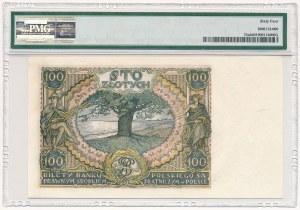 100 złotych 1934 - CK - PMG 64