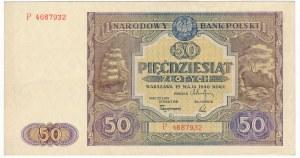 50 złotych 1946 - P - emisyjna świeżość
