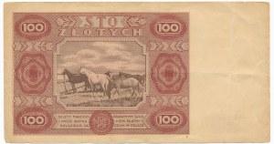 100 złotych 1947 - D - ładny