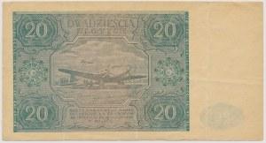 20 złotych 1946 - D -