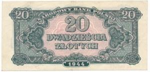 20 złotych 1944 ...owe - KH -