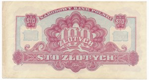 100 złotych 1944 ...owym - HY -