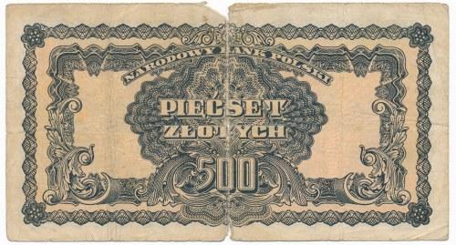500 złotych 1944 ...owym - AB -