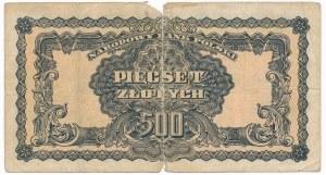 500 złotych 1944 ...owym -AA- rare