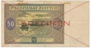 50 złotych 1946 SPECIMEN