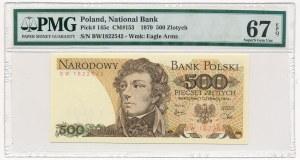 500 złotych 1979 - BW - PMG 67 EPQ
