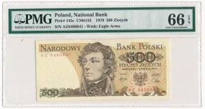 500 złotych 1979 - AZ - PMG 66 EPQ