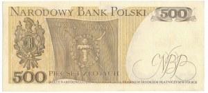 500 złotych 1976 - AE - jedna z najrzadszych serii