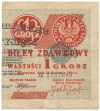 1 grosz 1924 - AX - lewa i prawa połowa