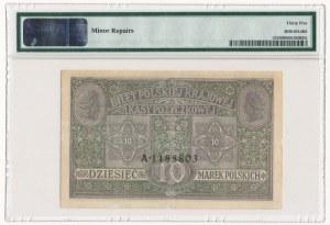 10 marek 1916 Generał Biletów - PMG 35 - RZADKI