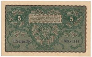 5 marek 1919 - II Serja DR