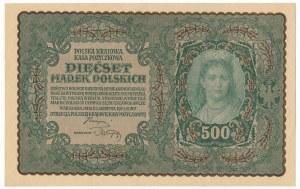 500 marek 1919 - I Serja BC