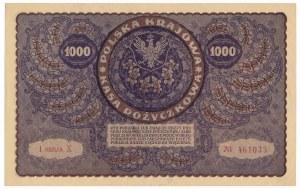 1.000 marek 1919 - I Serja X