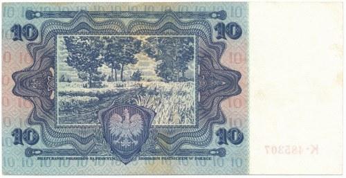10 złotych 1928 K ★ - RZADKOŚĆ