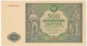 500 złotych 1946 - G -