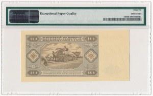 10 złotych 1948 - AW - PMG 66 EPQ